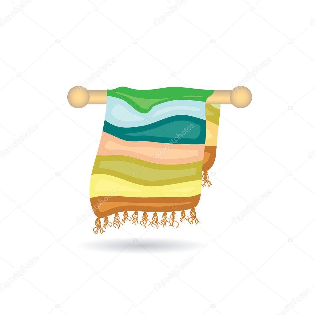 毛巾图标 — 图库矢量图像08