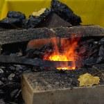 Fire, iron, Fall — Stock Photo #4029979