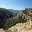 Large canyon of Crimea — Stock Photo