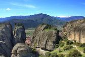 Les falaises majestueuses des météores. grèce. — Photo