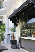 Уличные кафе — Стоковое фото