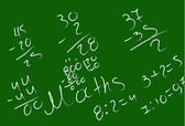 Mathematical examples — Stock vektor