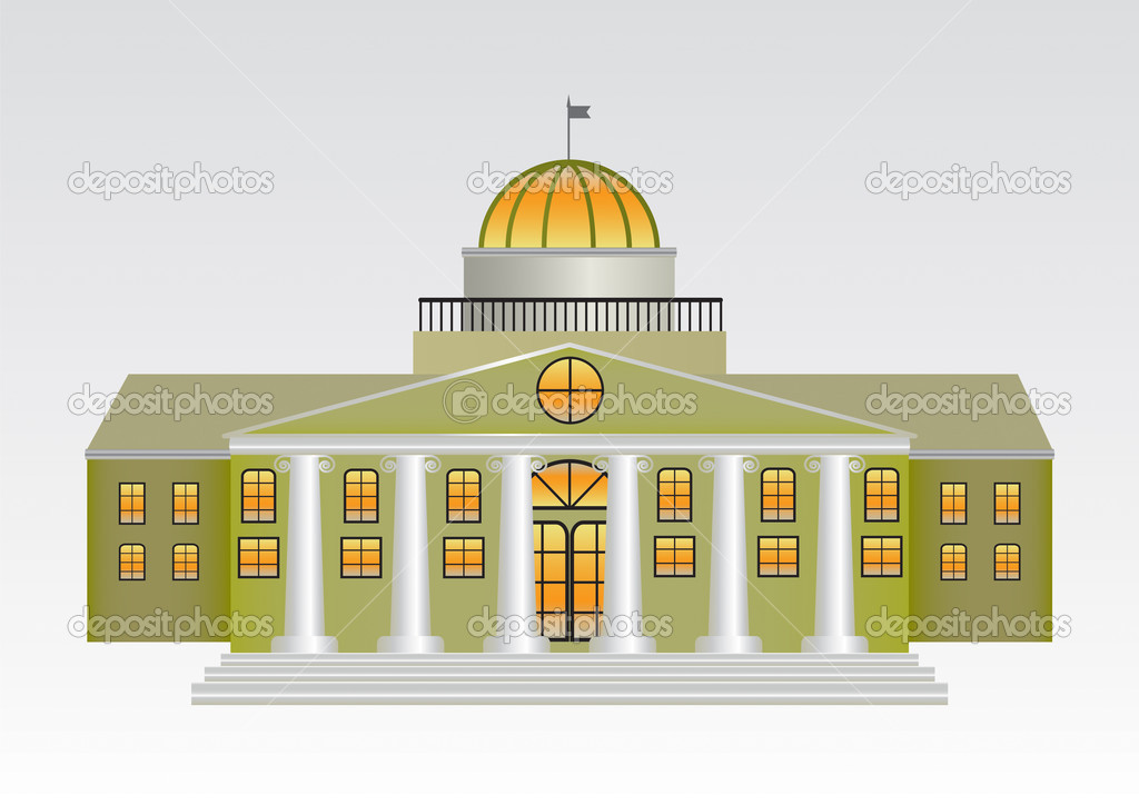 Palace  Stock Vector #4337612