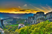 Monasteries on the rocks, Meteora, Greece — Stock Photo