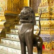 Thai style lion statue - Foto Stock