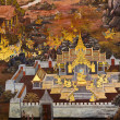 Traditional thai style painting - Foto Stock