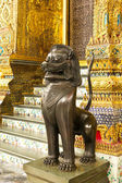 Statue de lion de style thaïlandais — Photo