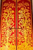 Peinture de style traditionnel thaïlandais — Photo