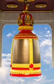Traditional thai style bell — Stock Photo