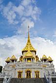 Traditional thai temple church — Stock Photo