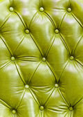 Texture of green leather — Stock Photo