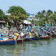 Stock Photo: Thai fishing boats
