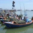 Fishing boats in Thailand - Stock Photo