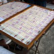 Stock Photo: Thai lottery tickets