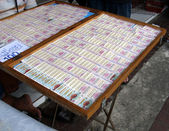 Thai lottery tickets — Stock Photo