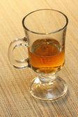 Glass of tea — Stock Photo