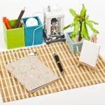 My home desk — Stock Photo