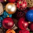 Stock Photo: Christmas ball decorations