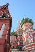 Moscow. Kremlin. Cupolas of Pokrovskiy of cathedral — Stock fotografie