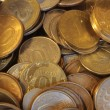 Stock Photo: Coins.