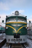 Electric train. — Стоковое фото