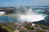 Niagara falls from above — Stock Photo