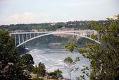 Niagara falls Bridge — Stock Photo