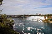 American Niagara falls — Stock Photo