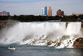 Niagara falls American side — Stock Photo