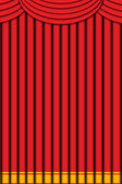 Red curtain — Stockfoto