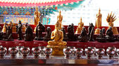Buddha and bowl — Stock Photo