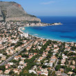 Stock Photo: Palermo - Mondello Gulf