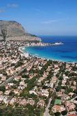 Palermo - Mondello Gulf — Stock Photo