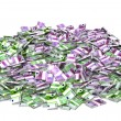Stock Photo: Huge pile of money