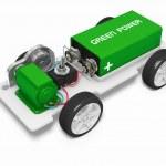Electric car concept — Stock Photo