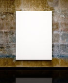 Empty paintings frame — Stock Photo