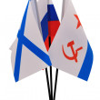 Flag; Russia - Stock Photo
