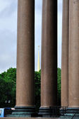 Column fragment — Stock Photo