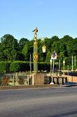 Pantelemonovskiy bridge — Stock Photo