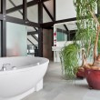 Beautiful interior of a modern bathroom — Stock Photo #5014482