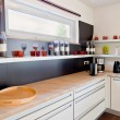 Interior of modern kitchen — Stock Photo