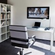Modern interior of home office — Stock Photo
