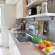 Interior of modern kitchen — Stock Photo #5016086