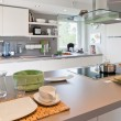 Interior of modern kitchen — Stockfoto #5016225