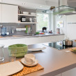 Foto de Stock  : Interior of modern kitchen