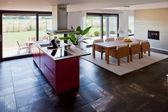 Interior of modern kitchen — Stockfoto