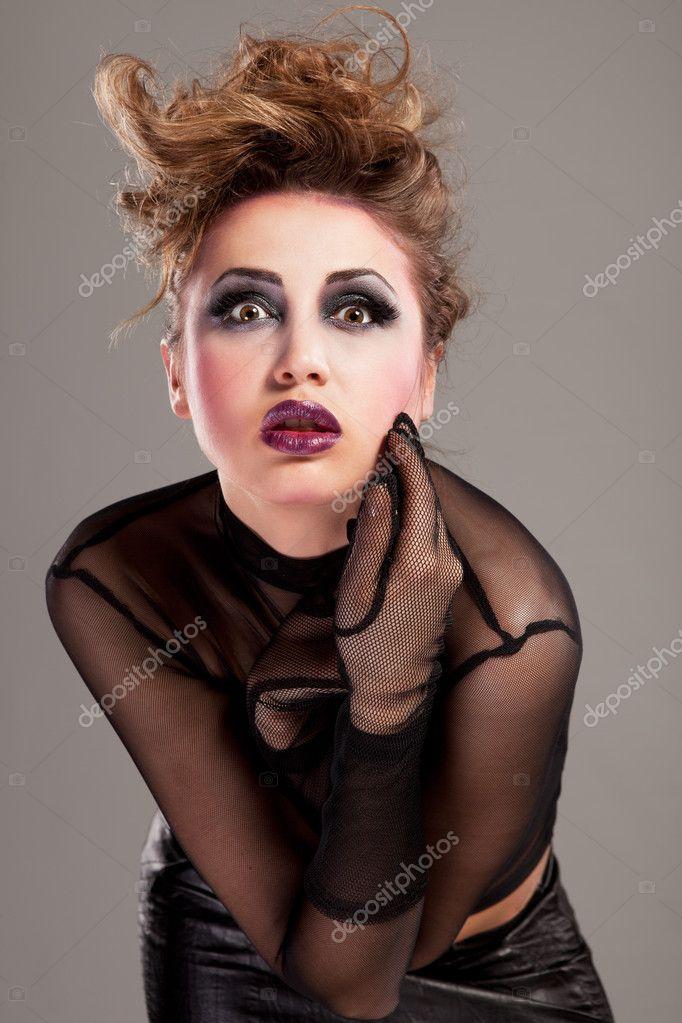 Rocker girl makeup age status