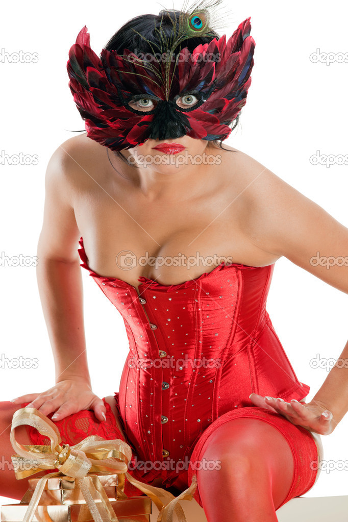 Opinion you Sexy naked women masks with