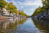 Amsterdam canals — Stock Photo
