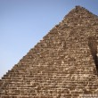 Stock Photo: The Pyramid of Menkaurae